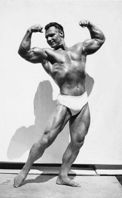 John Grimek bodybuilding posing