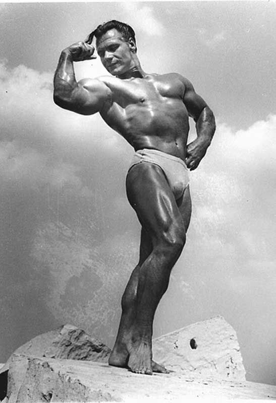 John Grimek biceps posing