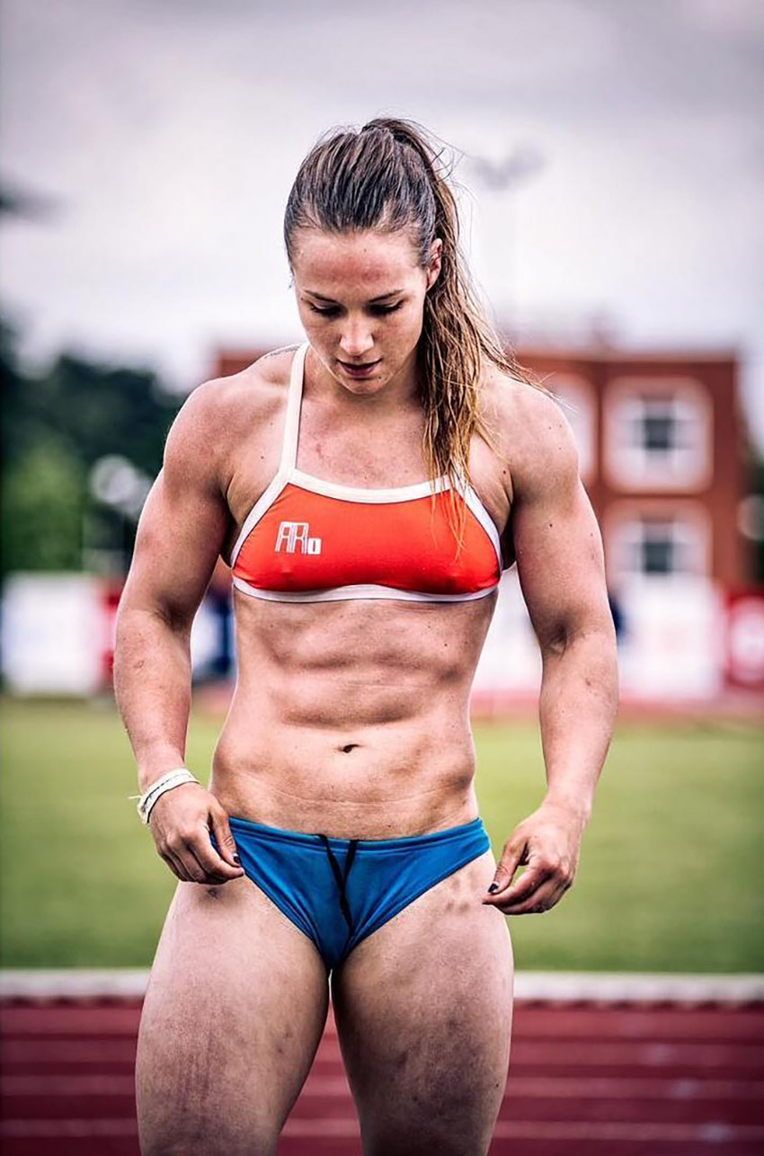 Muscle girl with massive dick futanari fantasy 9