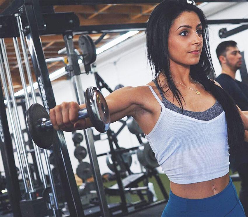 Amanda Bucci training plan