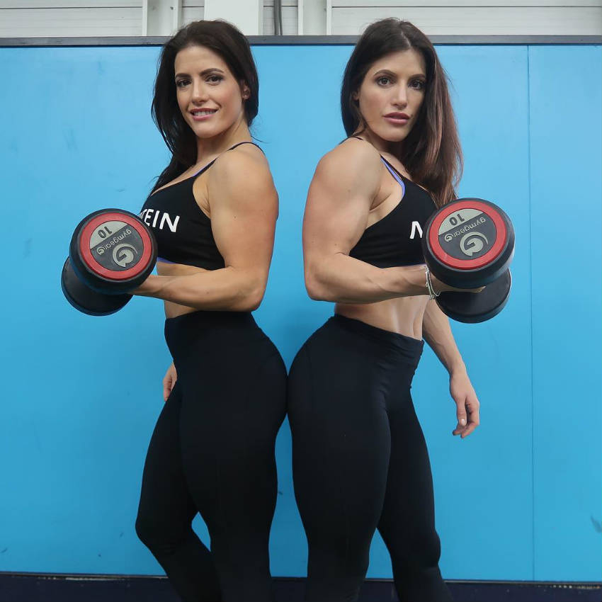 the west twins dumbbells