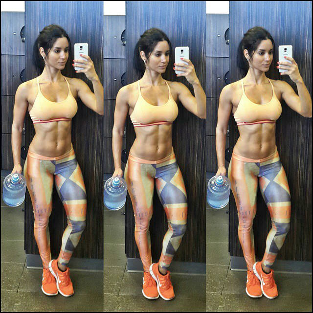 alzira rodriguez at the gym