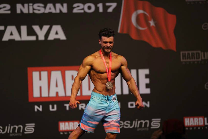 halim baydur winning contest wearing medal