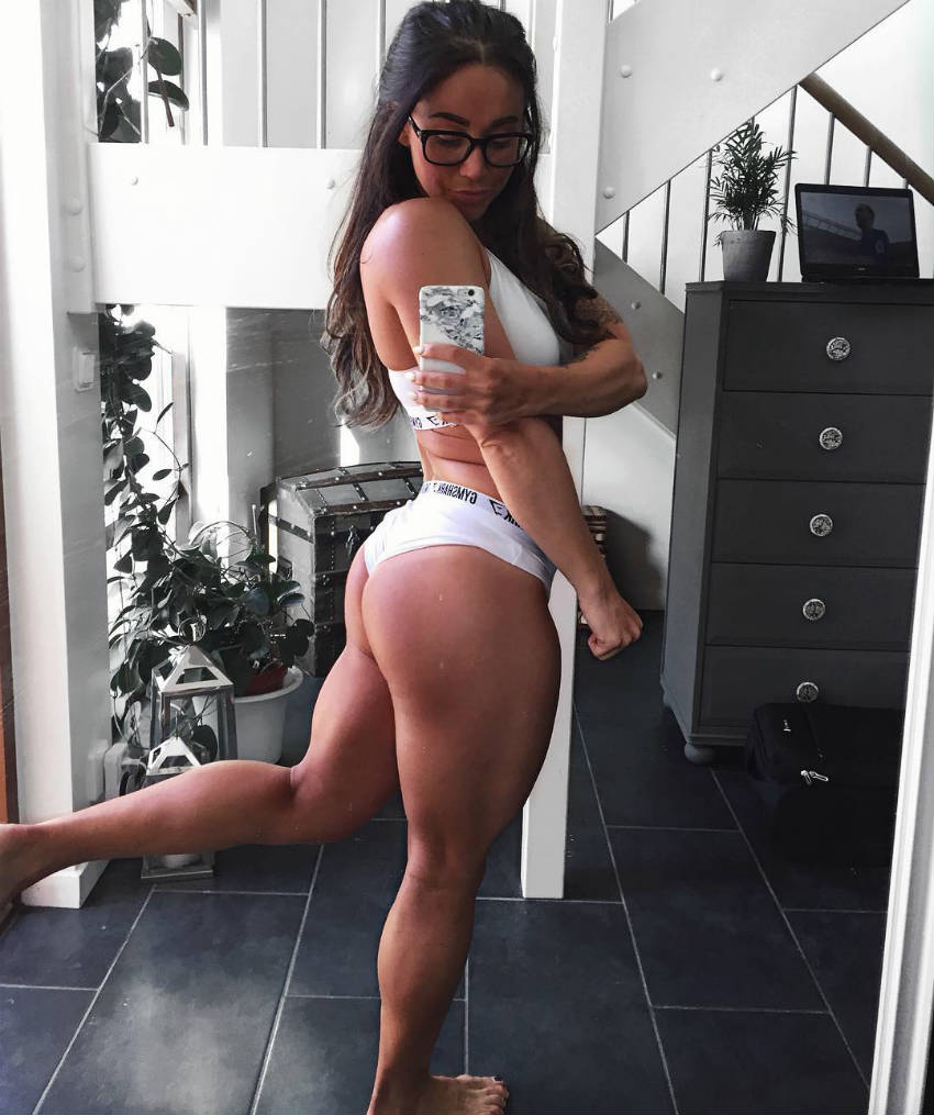 hanna obergs glutes