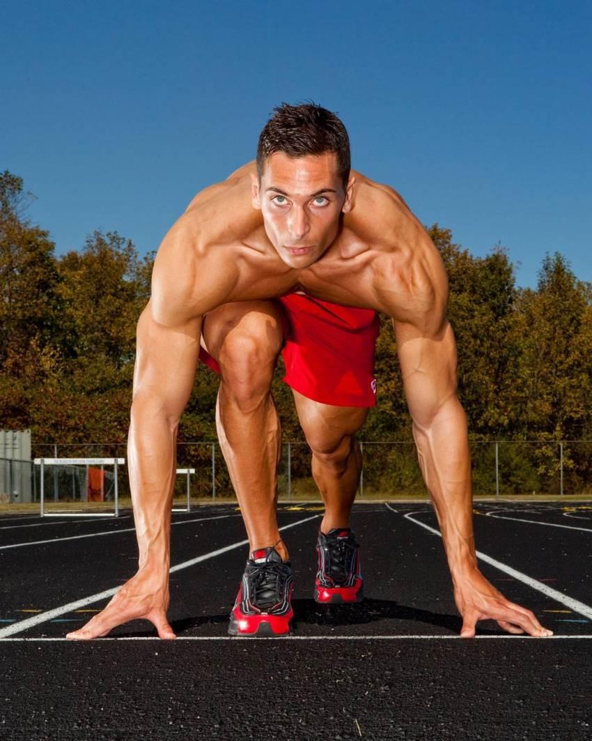 mike raso track athlete