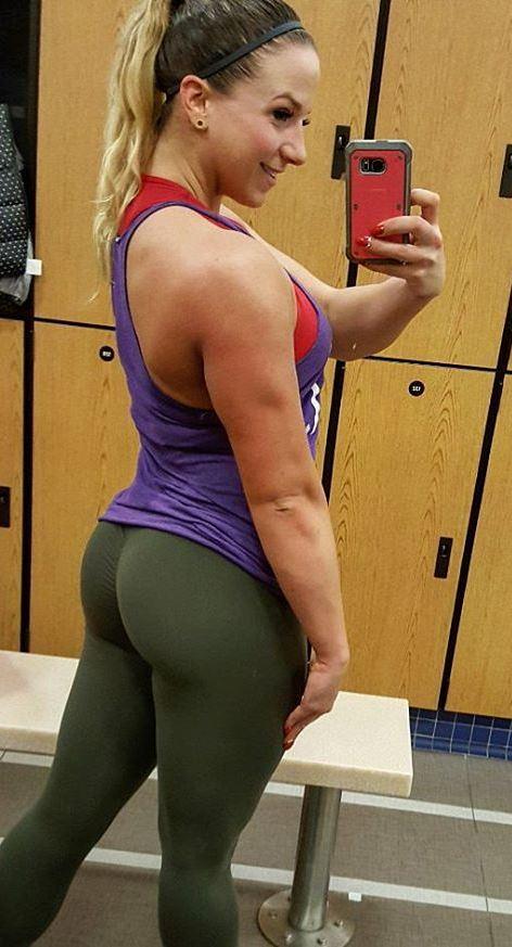 rachel killam glutes in the gym