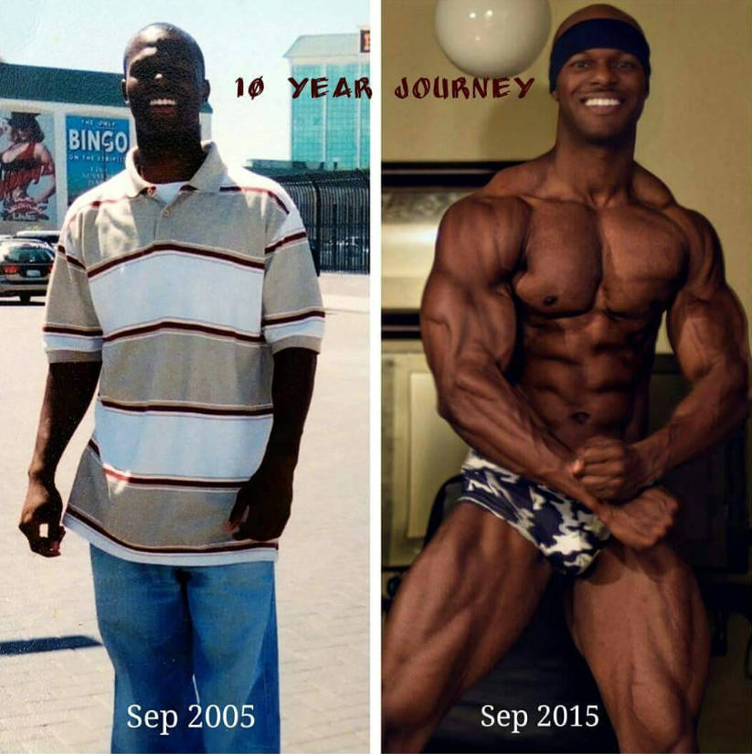 robert niters transformation