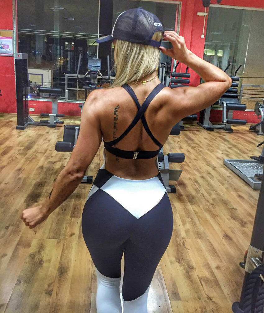 tamy giannucci glutes