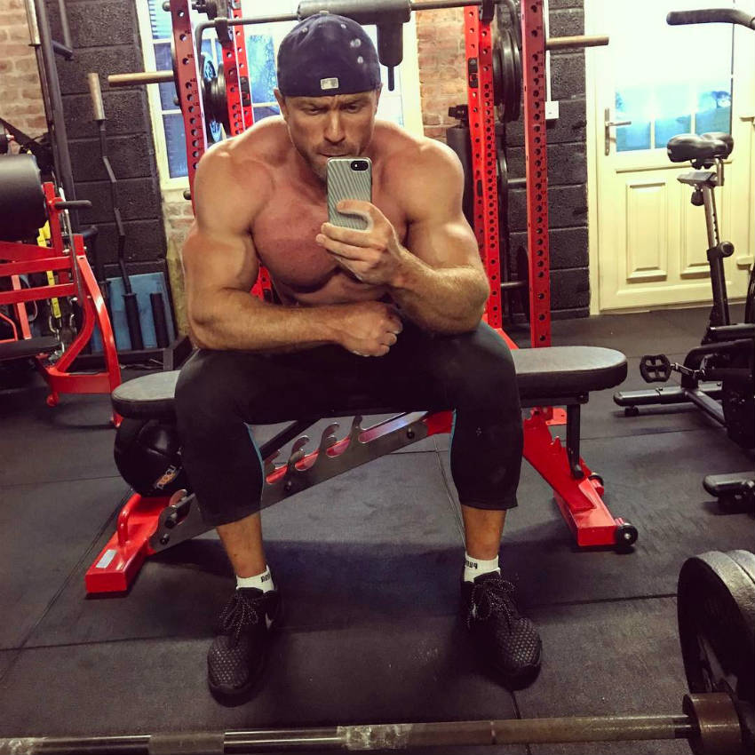 tom brazier on bench