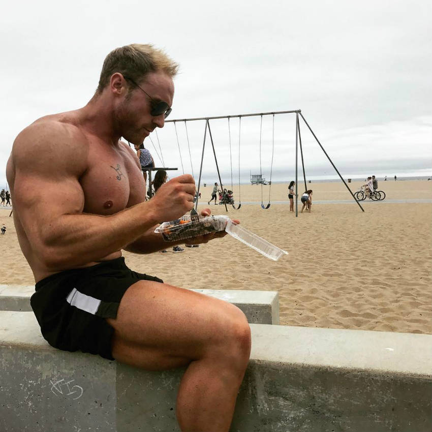tom brazier eating