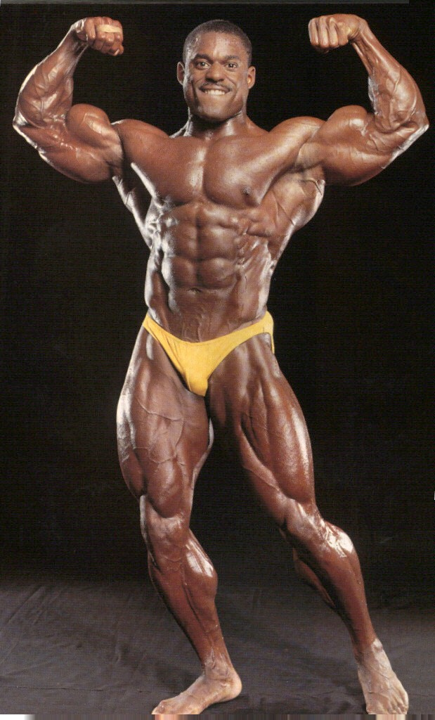 vince taylor front double biceps