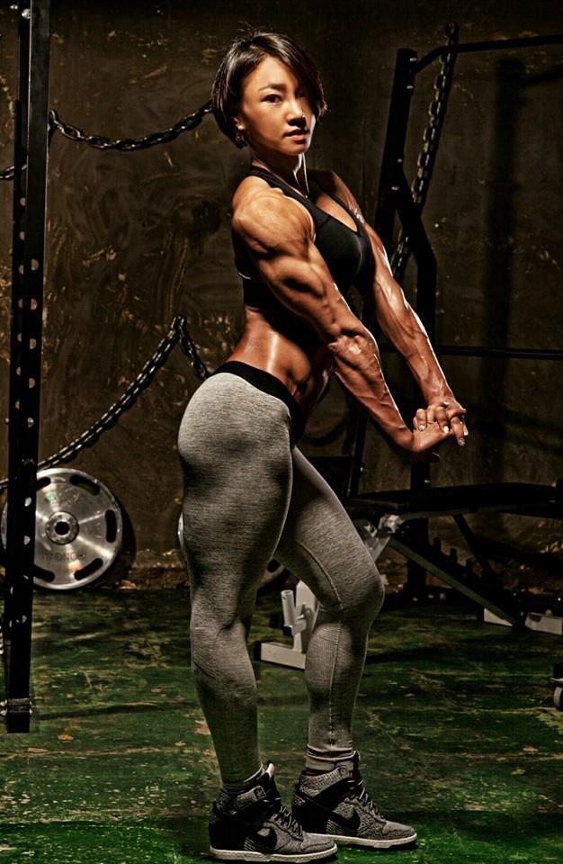 models Asian female fitness