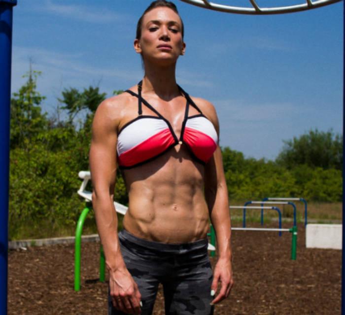 Cornelia Ritzke standing in a park