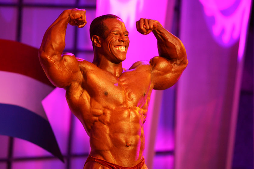 David Henry at the 2005 Mr Olympia