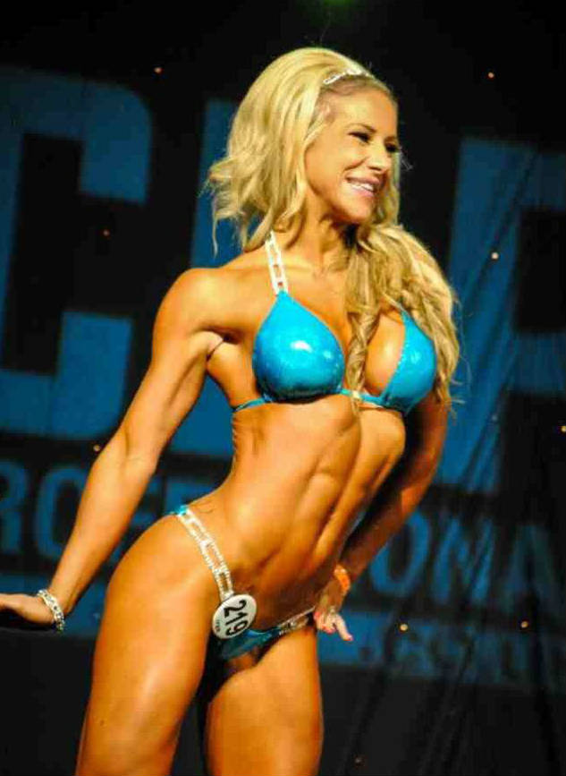 Georgia B Simmons posing at a competition
