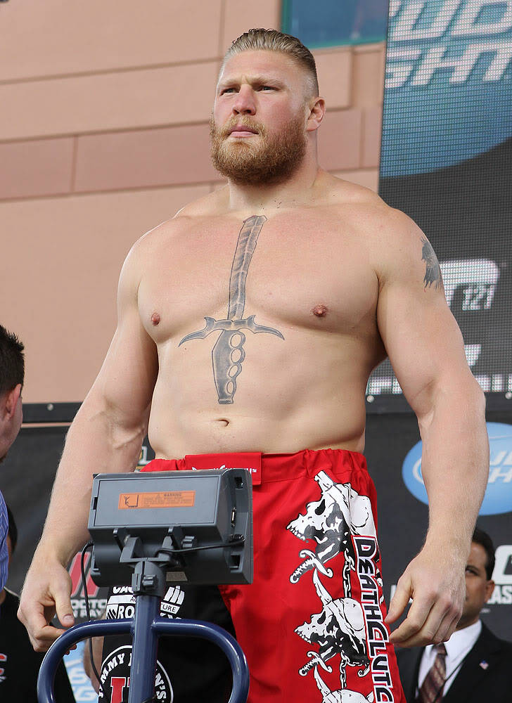 brock lesnar age height weight images bio