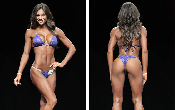 janet layug competing back and front