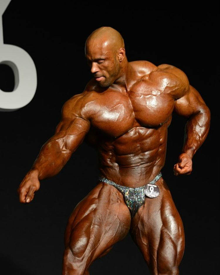 juan morel tanned up for bodybuilding show