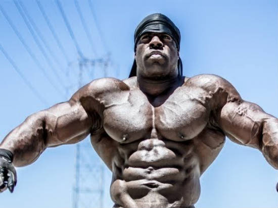 kali muscle wearing do-rag