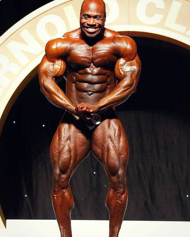 maxx charles competing at the arnold cl