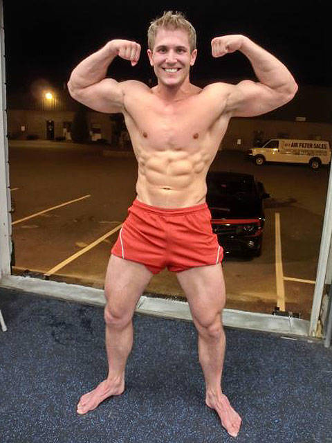 scott herman full body shot with arm flex