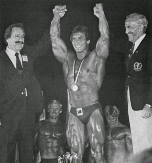 Lance Dreher winning the world championships in 1981