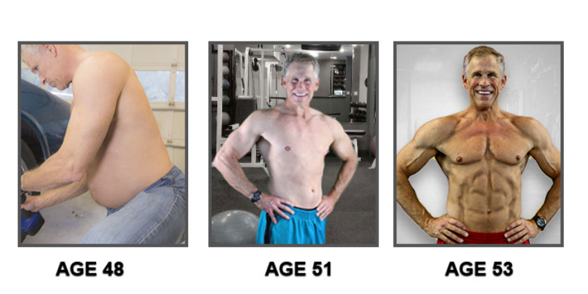 Mark Mcilyar's transformation from 48 years old to 53 years old