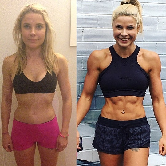 Jaz Correll's transformation from average looking to fit and healthy