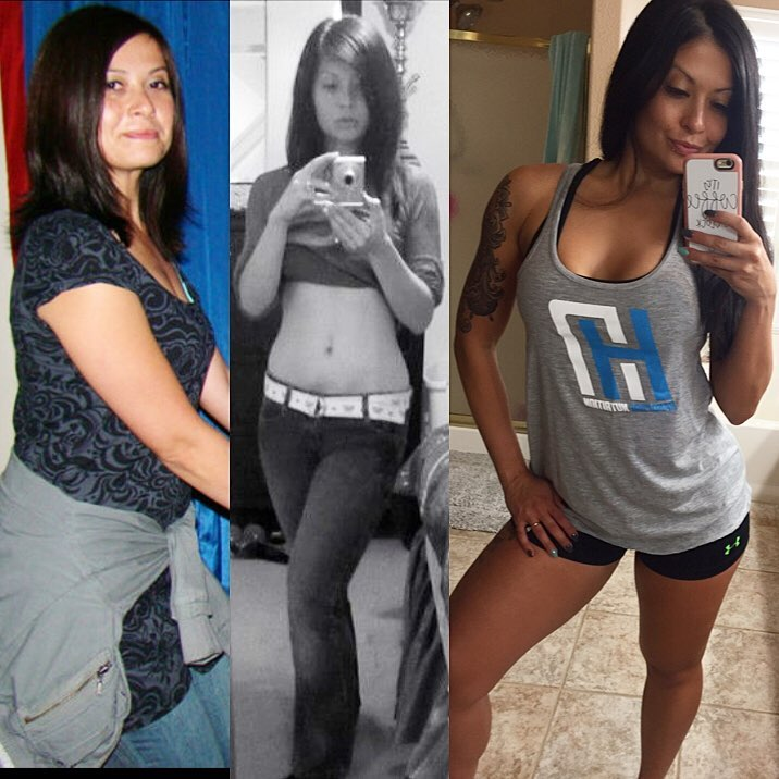 Teresa Wimbs' transformation from skinny fat to fit and healthy