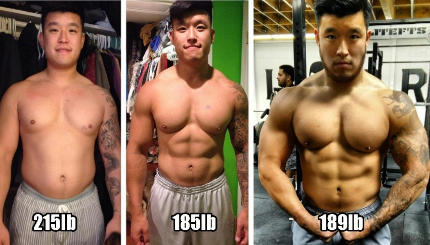 Bart Kwan transformation before-after