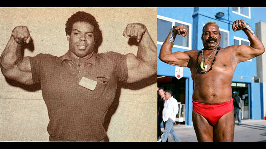 Bill Pettis comparison between at his prime, and later in his life.