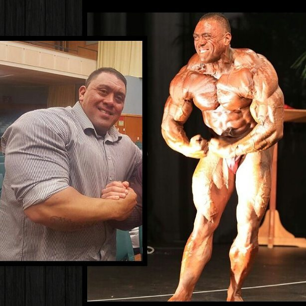 Darryn Onekawa transformation from overweight to ripped