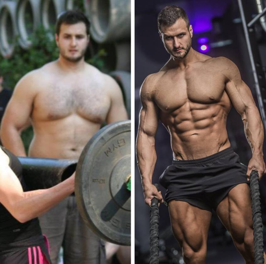 Emil Goliath transformation from his strongman days to him now