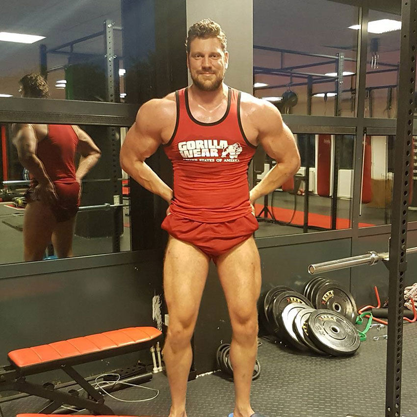 Olivier Richters - Greatest Physiques