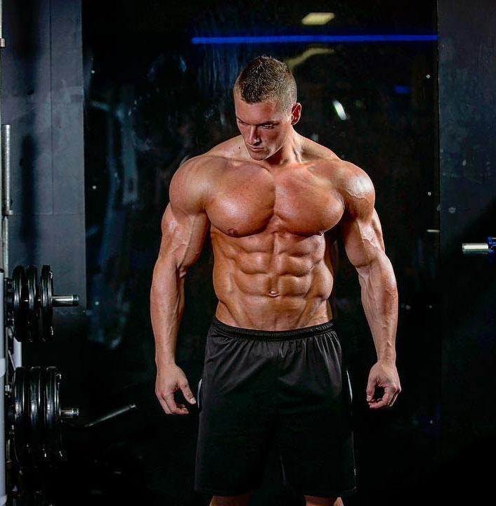Samuel Dixon posing in a photo shoot.