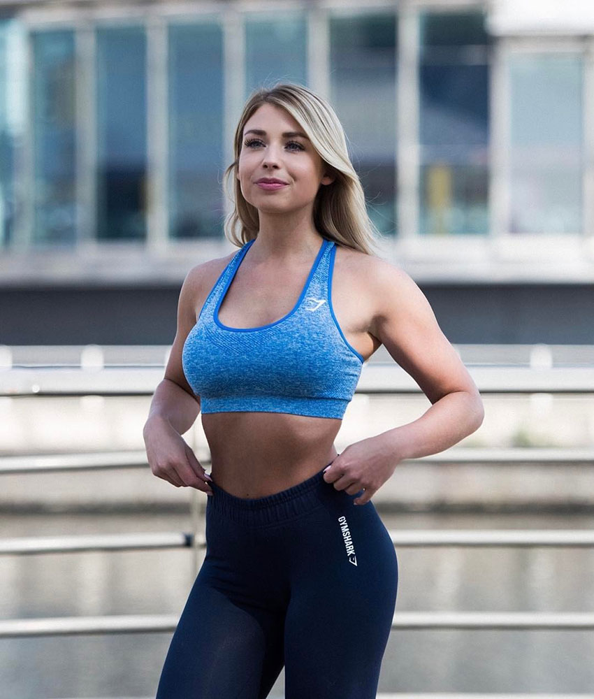 Sophie Aris posing in a photo shoot.
