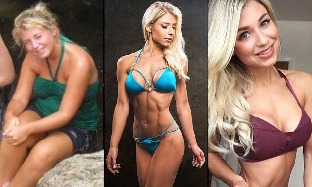 Sophie Aris before compared to how she looks now.