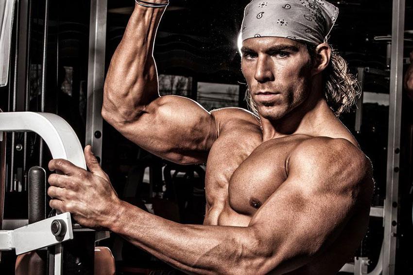 Craig Capurso showing off his shredded body.