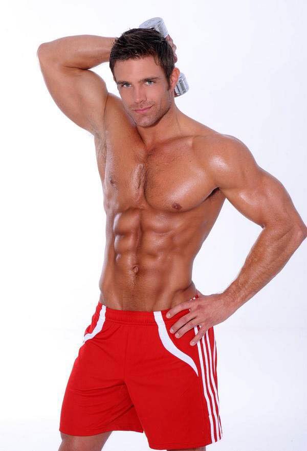 David Kimmerle posing in a photo shoot.