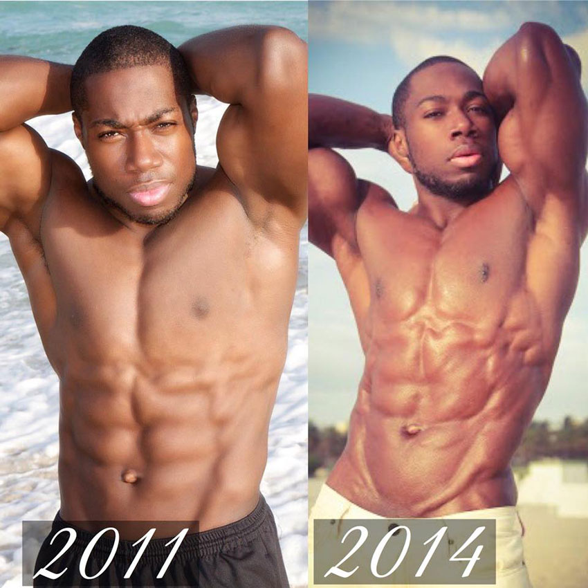 Kizzito Ejam's progression between 2011 and 2014.