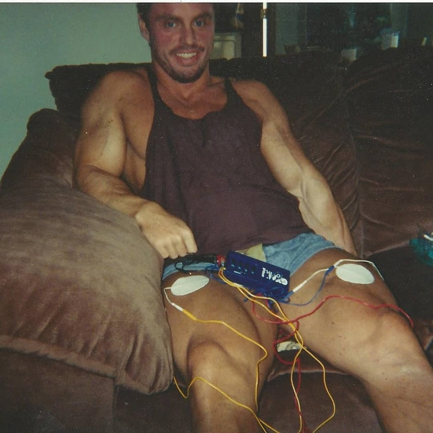 John Meadows during his time recovering from colon surgery