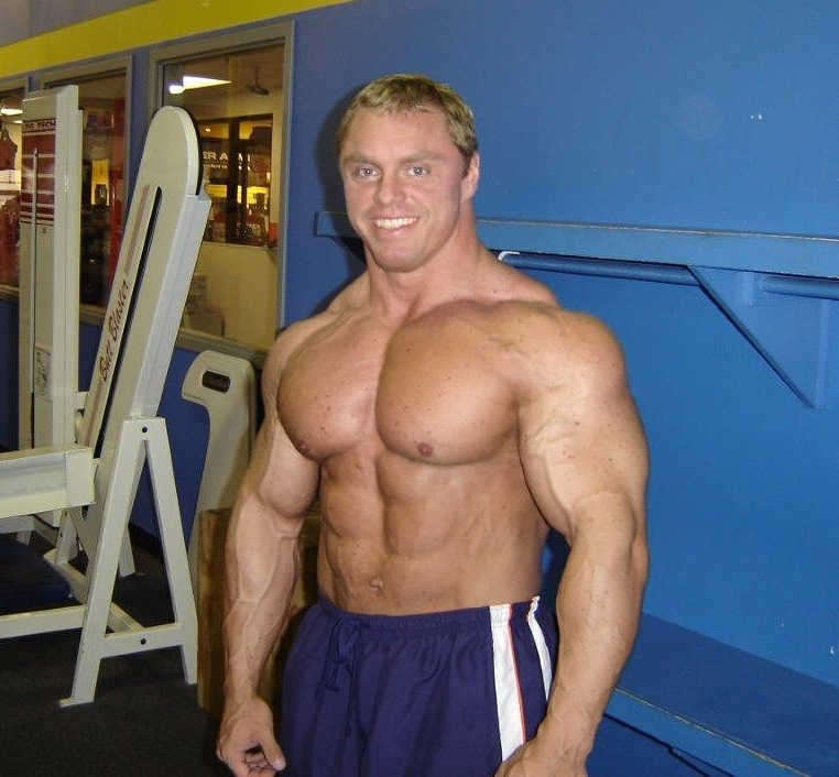 John Meadows in his younger days, looking big and ripped