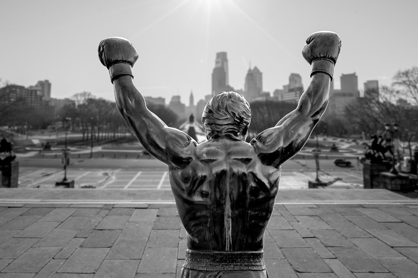 Sylvester Stallone The Rocky Statue in Philadelphia
