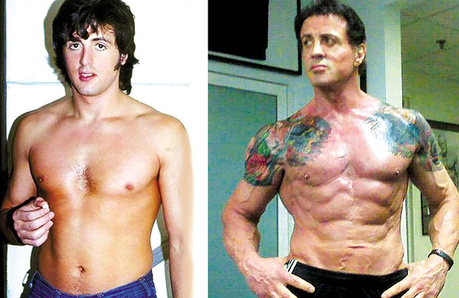 Simply sylvester stallone body was