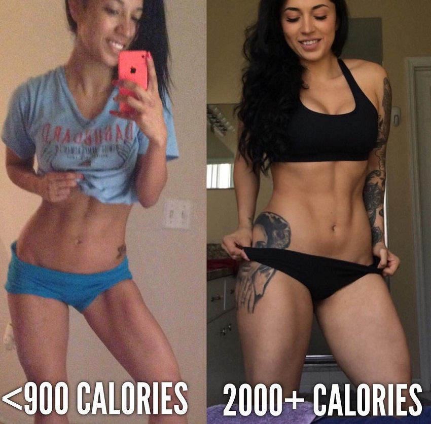 Bianca Taylor's transformation before-after