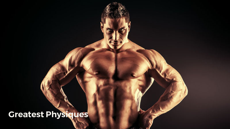 Huge bodybuilder, athlete, musculr, posing towards the camera on a black background