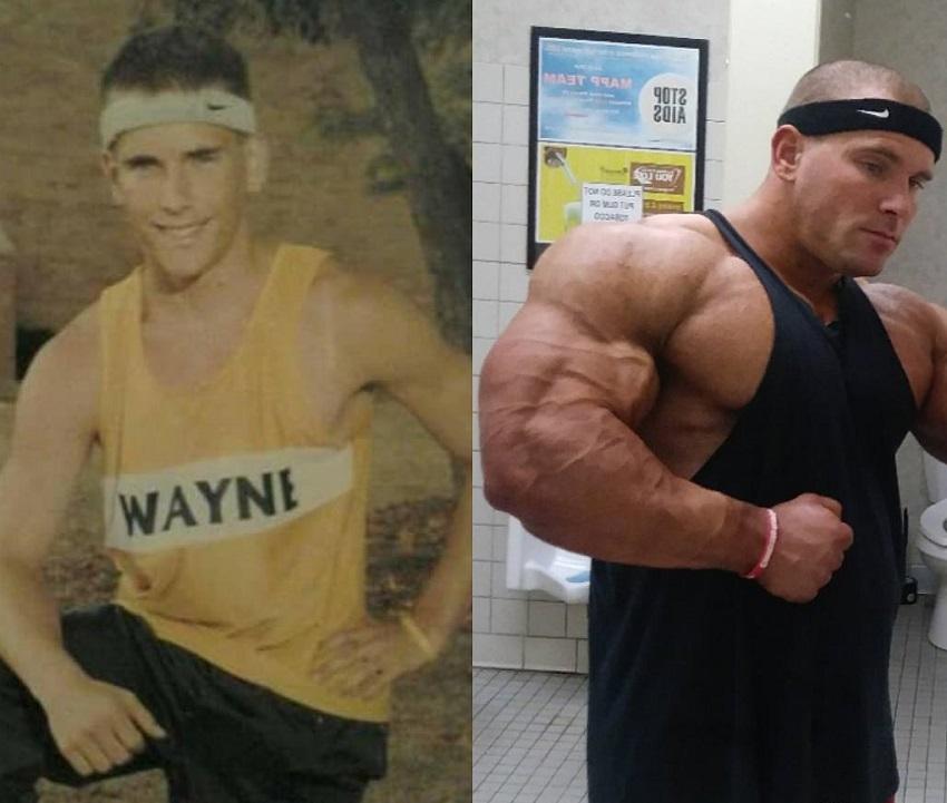 Jordan Janowitz's bodybuilding transformation before-after