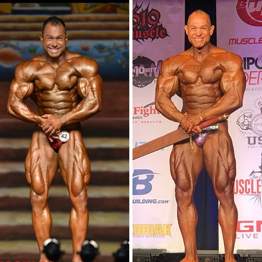 Matt Porter transformation on the bodybuilding stag before-after