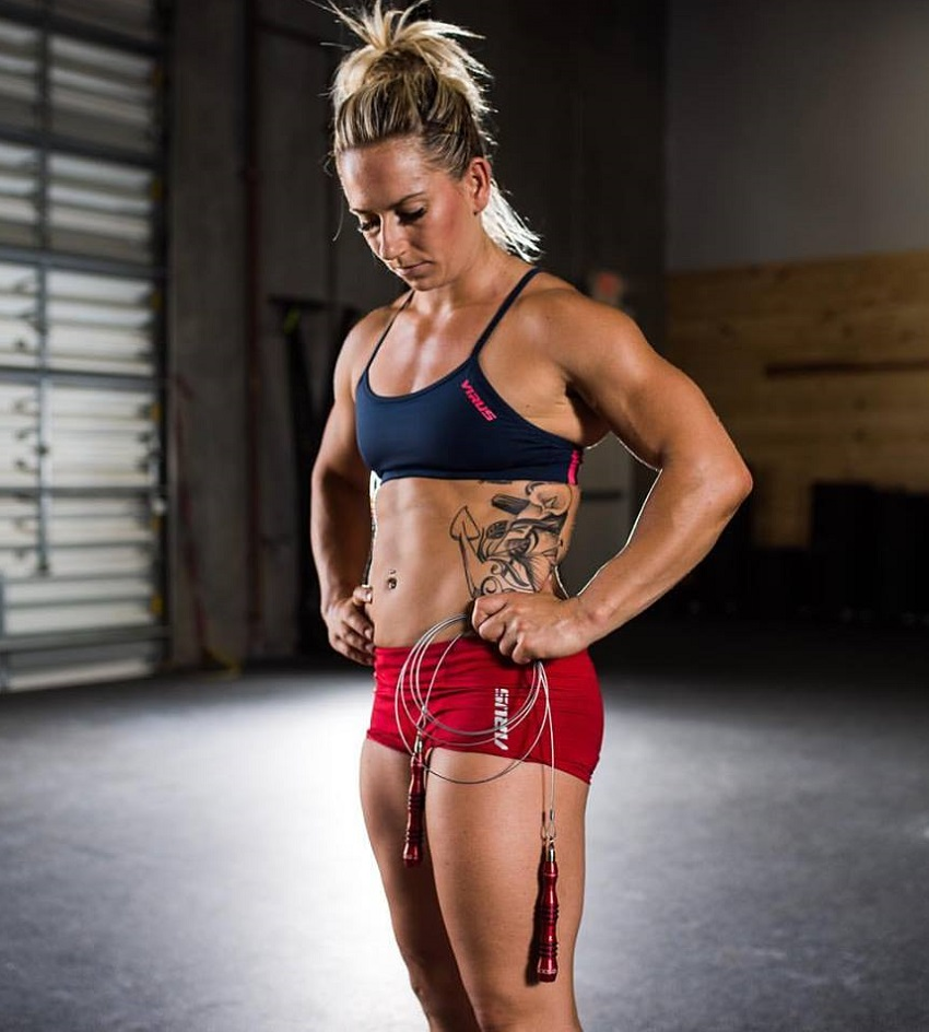 Cassidy Lance-Mcwherter posing in a photo shoot looking fit and lean