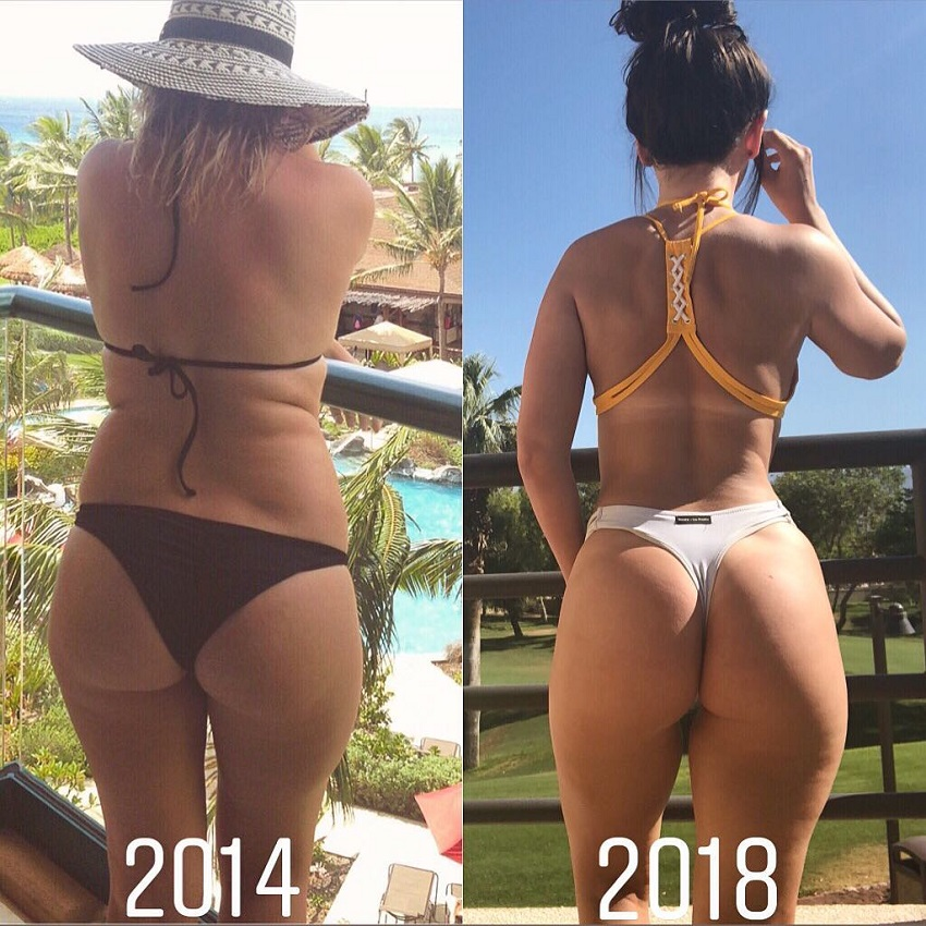 Amanda Hagan's 4- year body transformation from overweight to fit